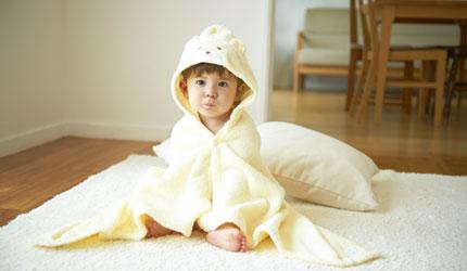 肌にやさしい素材を赤ちゃんに 「無撚糸」がおすすめの理由