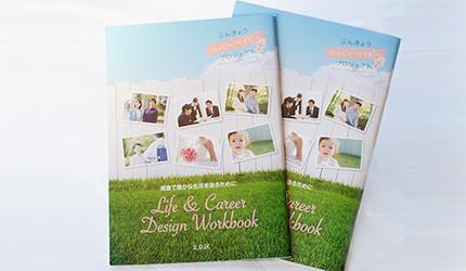 健康、お金、仕事、家事をトータルに考えて、自らの望む結婚、妊娠、出産を! 東京・文京区が発行した『ライフ&キャリアデザイン ワークブック』に注目
