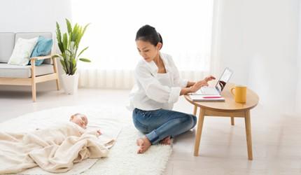 場所や時間にとらわれない働き方「テレワーク」は子育ての強い味方になる!