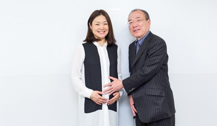 佐藤真海さん×吉村やすのり先生 出産直前対談!(前編) 「妊娠中も運動を続けたことで、体重は目標範囲内に収まりそう」