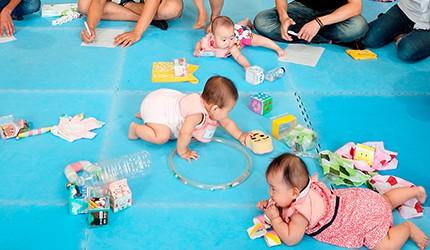 パパが赤ちゃんと遊べば家族の笑顔がふえる!  1歳までの赤ちゃんとの遊び方 ≪手づくりおもちゃ編≫