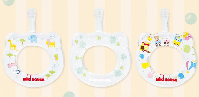 赤ちゃんの保育園生活におすすめの、ベビー用歯ブラシ。