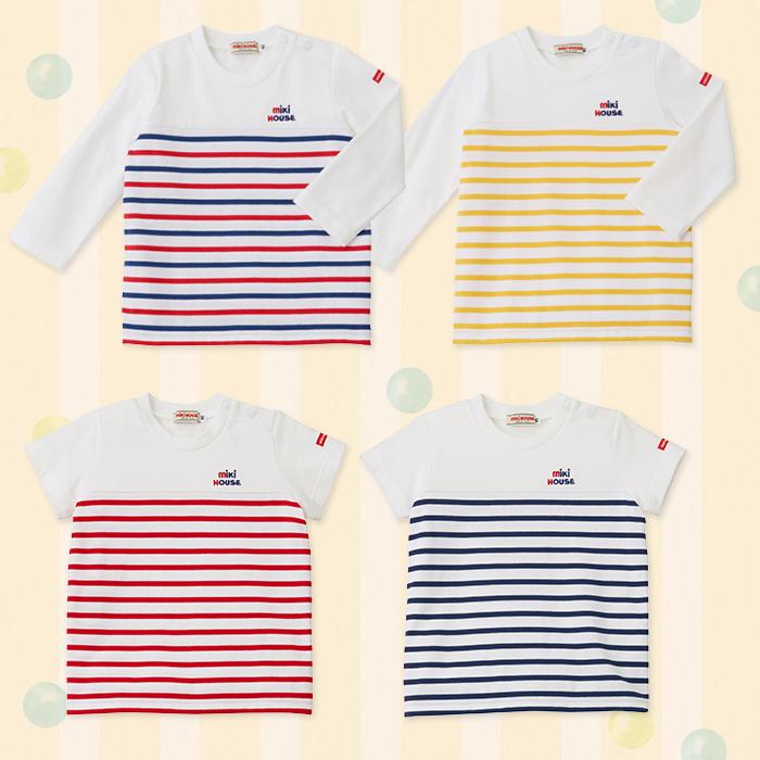 赤ちゃんの保育園でのお着替えに必要なTシャツ。肌ざわりのよいものを選んであげたいですね。