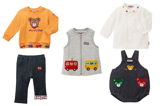 とにかく動きやすい服装を。腕まわりがモコモコしないベストや薄手のカーディガンなら、赤ちゃんも快適でしょう。