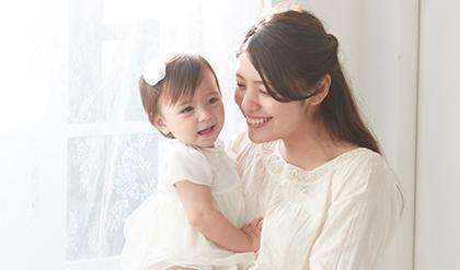 ママと赤ちゃんの1年間カレンダー