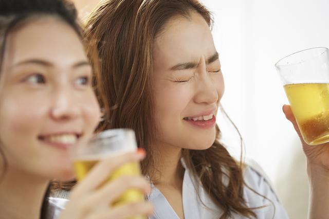 アルコールは控えましょう