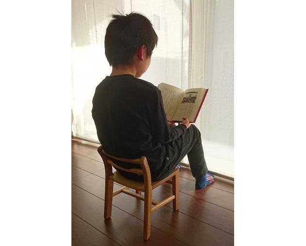「君の椅子プロジェクト」の方々からいただいた「希望の君の椅子」