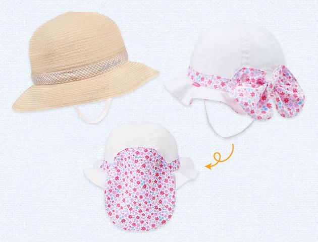 夏のマストアイテム その他2 日よけ付きの帽子